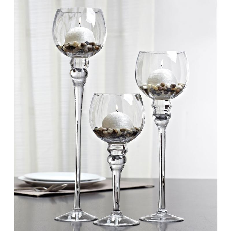 6e26d03b5d Ksp Illume Glass Stem Candleholder