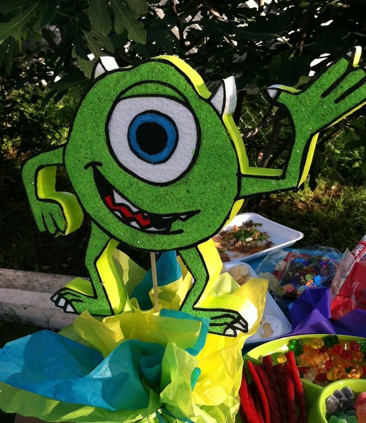 Monsters Inc Centerpieces | Mike from monsters inc centerpieces | monstet jaik | Pinterest | Bebe  sc 1 st  Pinterest & Monsters Inc Centerpieces | Mike from monsters inc centerpieces ...