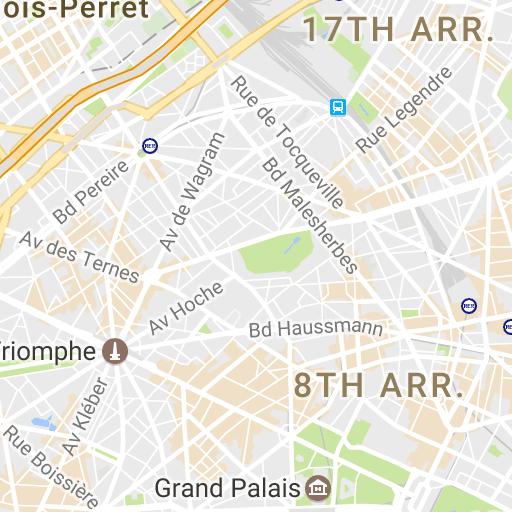 Paris Map Neighborhoods Districts Arrondissements Hotel Map