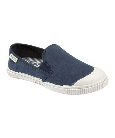 Take a look at this Midnight Navy Santiago Flat - Women by KEEN Women