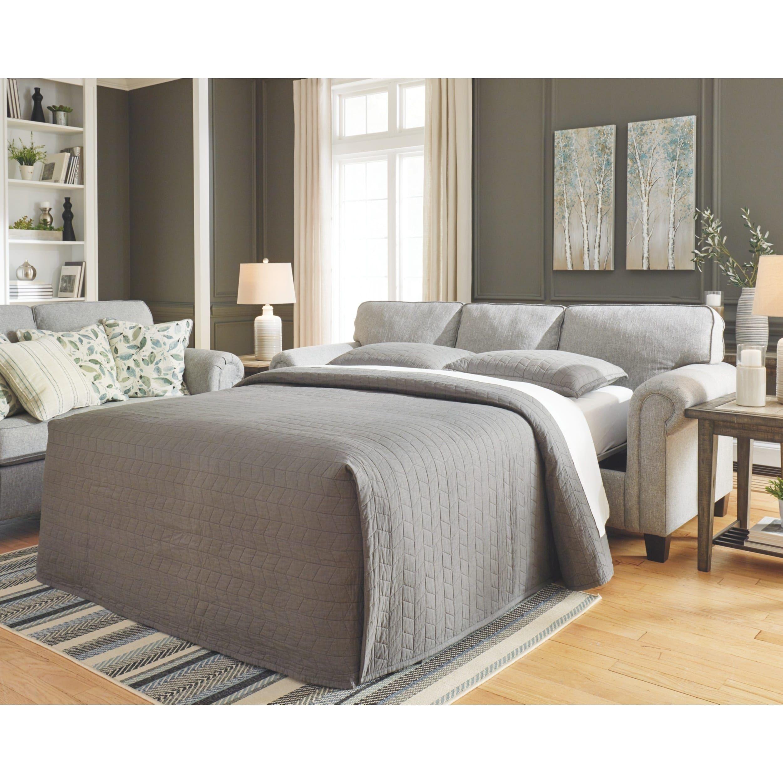 Best Signature Design By Ashley Alandari Grey Queen Sofa 400 x 300