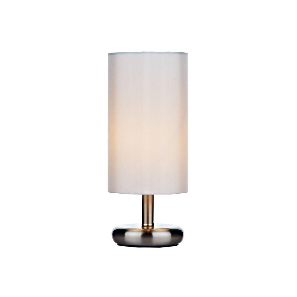 Dar tic4133 tico satin chrome table lamp lighting pinterest dar tic4133 tico satin chrome table lamp geotapseo Images