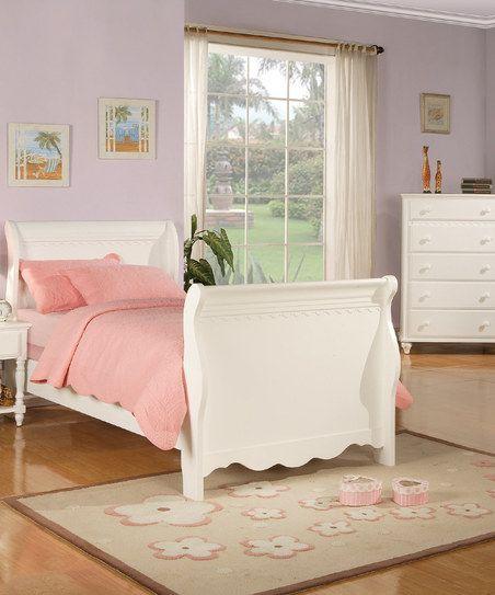Crisp White Three-Piece Bedroom Set