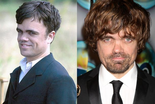 Peter Dinklage In The Station Agent In 2003 And Peter Dinklage In