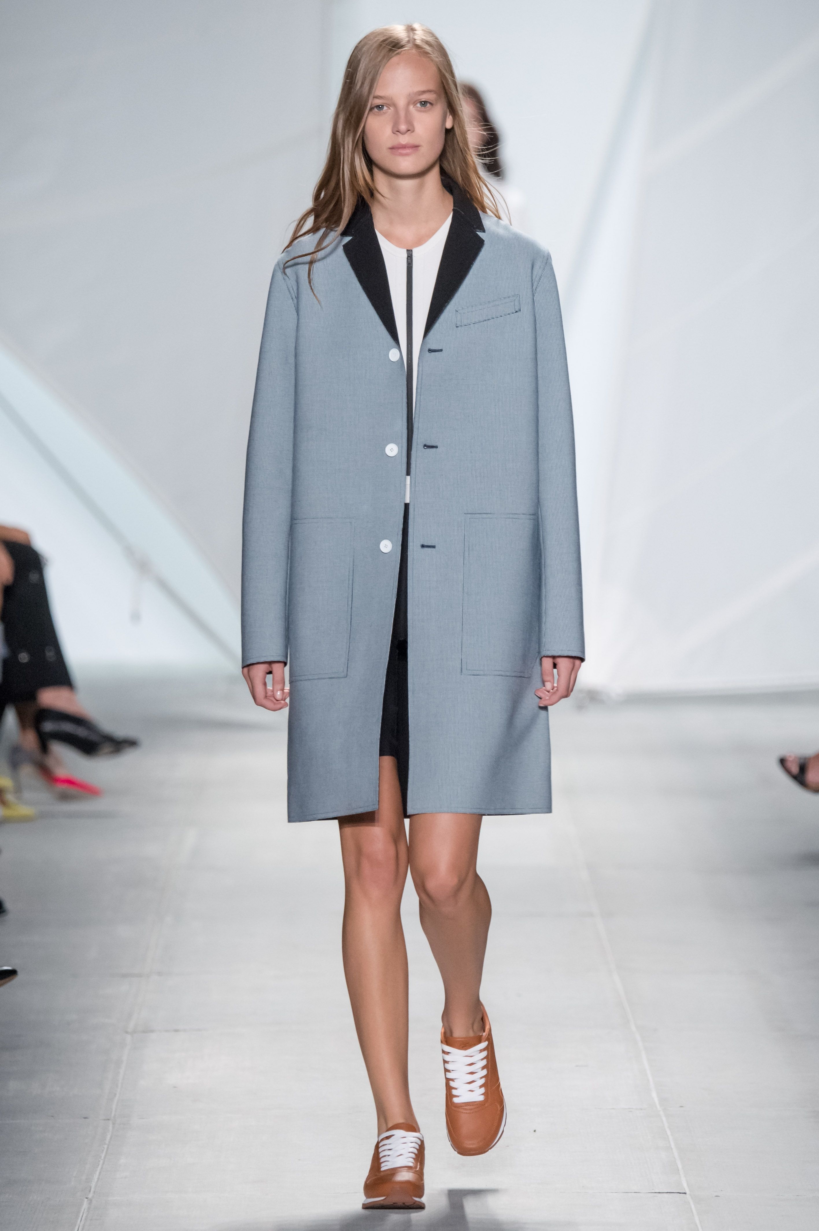 #Look from the #LacosteSS15 #Fashion #Show designed by #FelipeOliveiraBaptista - #NYFW