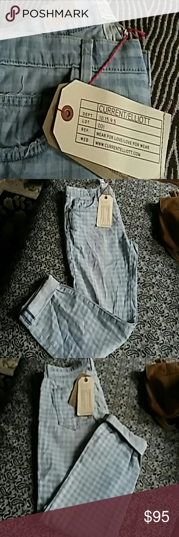 Current Elliot the boyfriend jeans. Ladies these are top of the line jeans. The fit and the style is the best right now. You won't be disappointed. Current Elliot Jeans Boyfriend