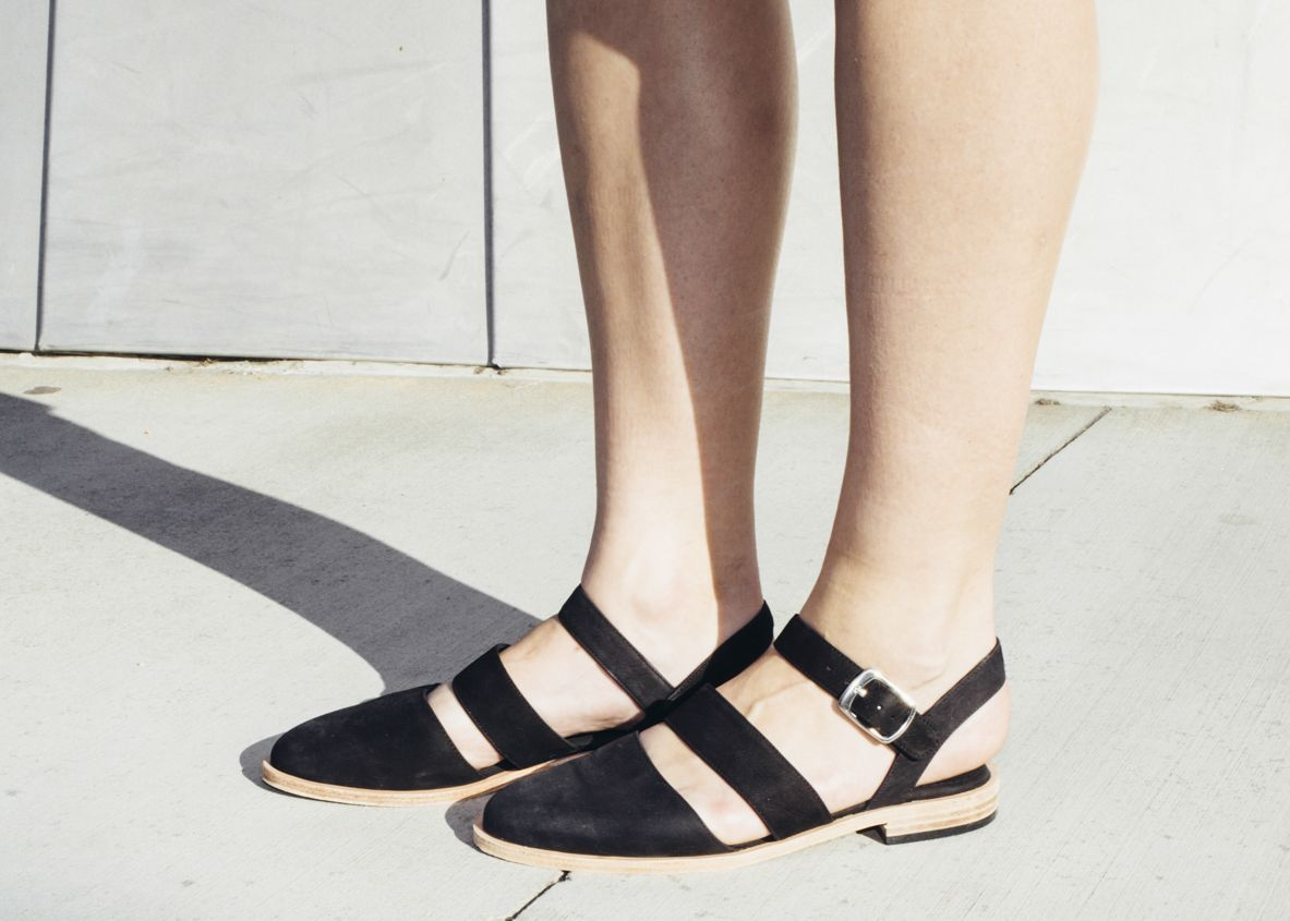 The Beverly Sandal. #AmericanApparel