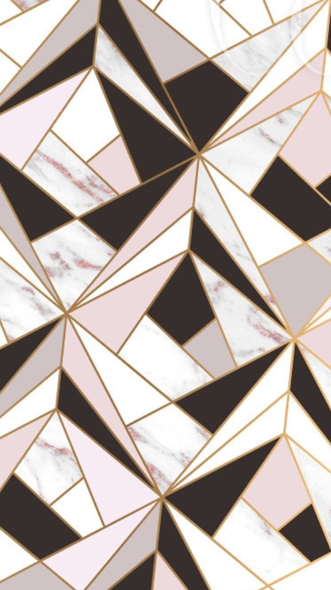 Geometric Pink And Grey Background Image in 2020 Pink