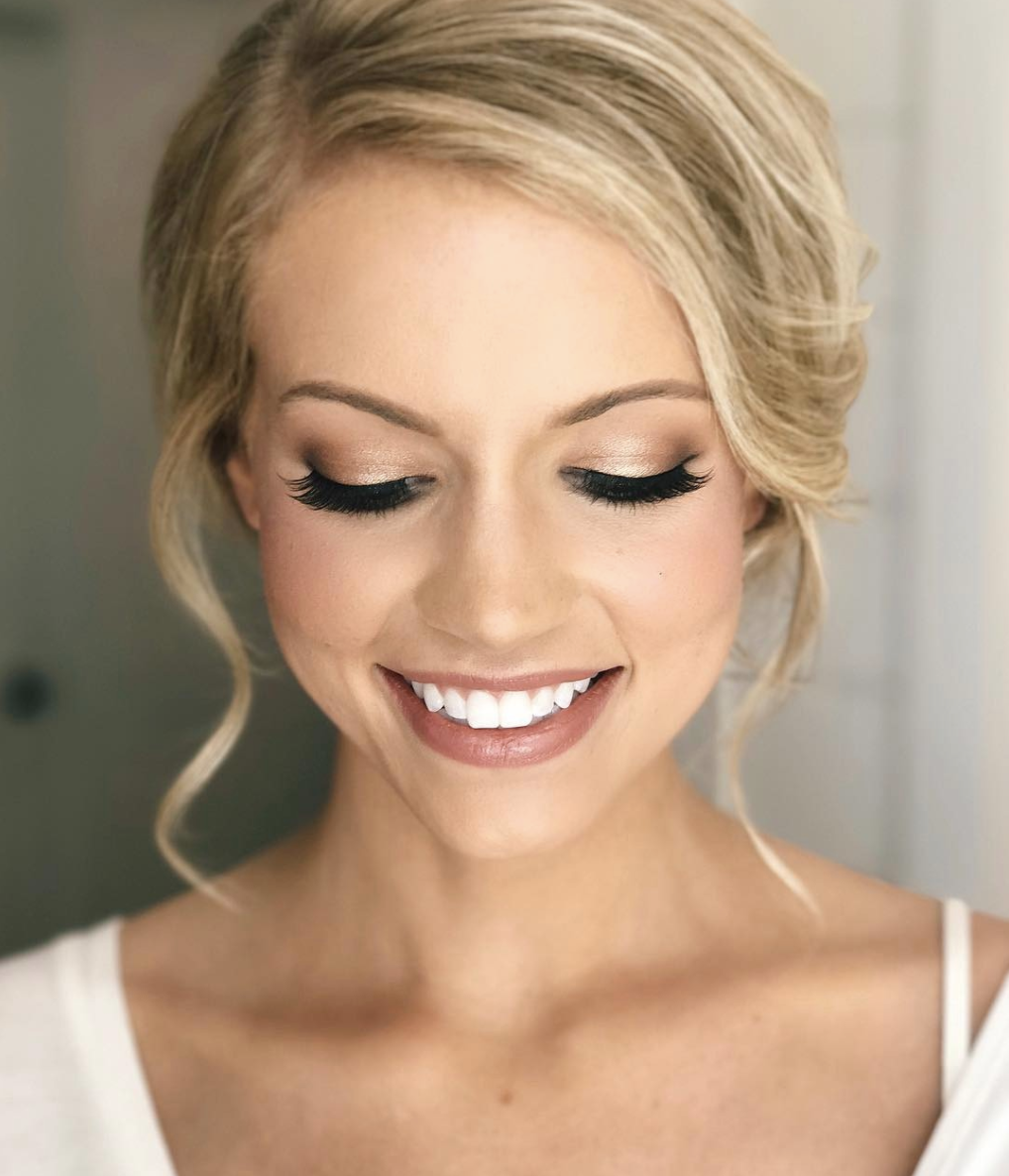 Pin By Hesti Yuniastuti On Makeup Blonde Hair Makeup Wedding Makeup Tips Makeup For Blondes
