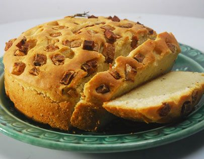 Focaccia made from potato and rosemary bread recipes pinterest find this pin and more on bread recipes by sanjeevkapoor forumfinder Gallery