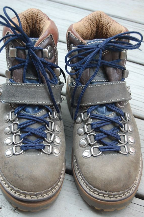 Vintage 80s 90s Rugged Hiking Boots