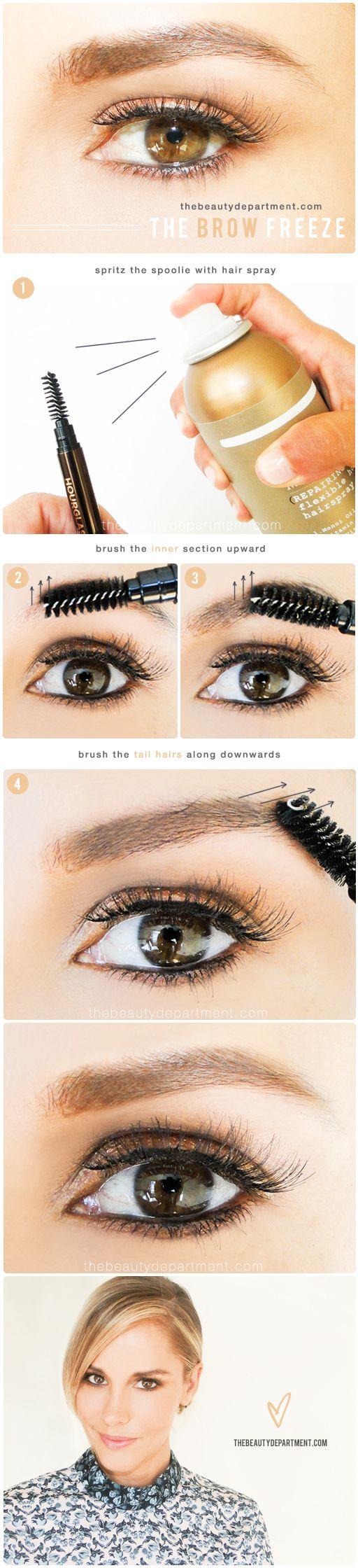 Diy Instant Brow Gel Makeup Pinterest Makeup Brows And Brow Gel