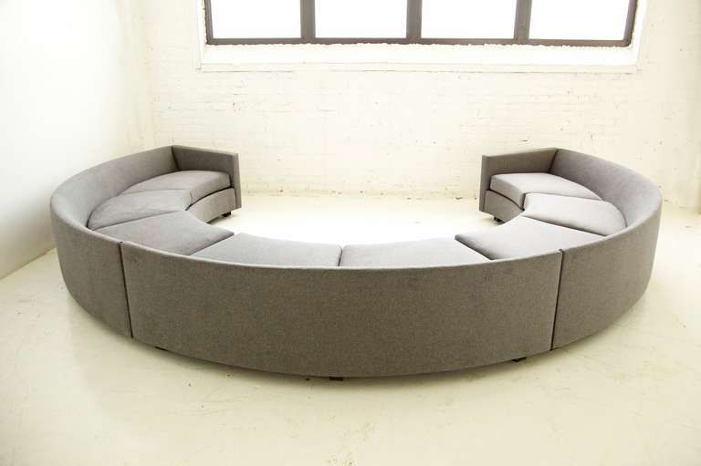 Milo Baughman Curved Sofa   When You Head Out To Showrooms To Look For Your  New Couch, You May Be Hit With All Sorts Of Qu