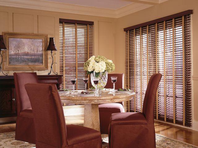 Comfortex Woodwind 2-inch Horizontal Faux Wood Blinds