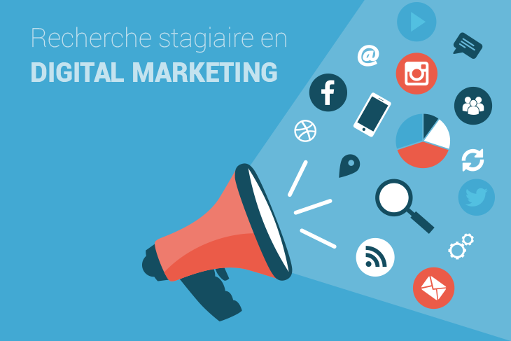 Offre De Stage Marketing Digital A Nyon Suisse Marketingdigital Web Carriere