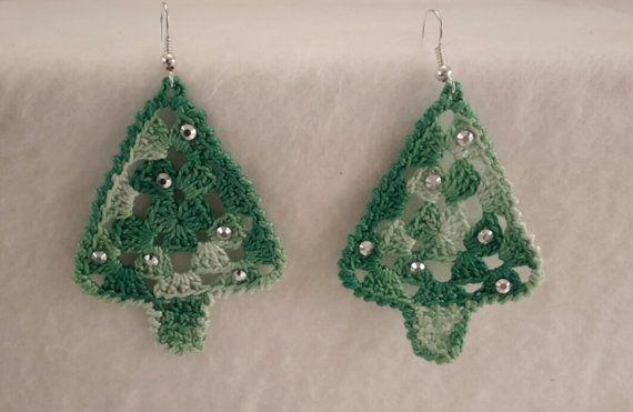 Christmas Tree Earrings Gioia Alluncinetto Pinterest