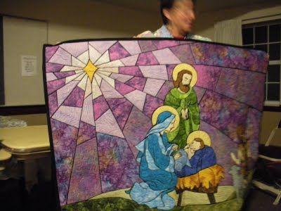 Nativity Quilt idea   Quilt Favourites: To Inspire & Delight ... : nativity quilt pattern - Adamdwight.com