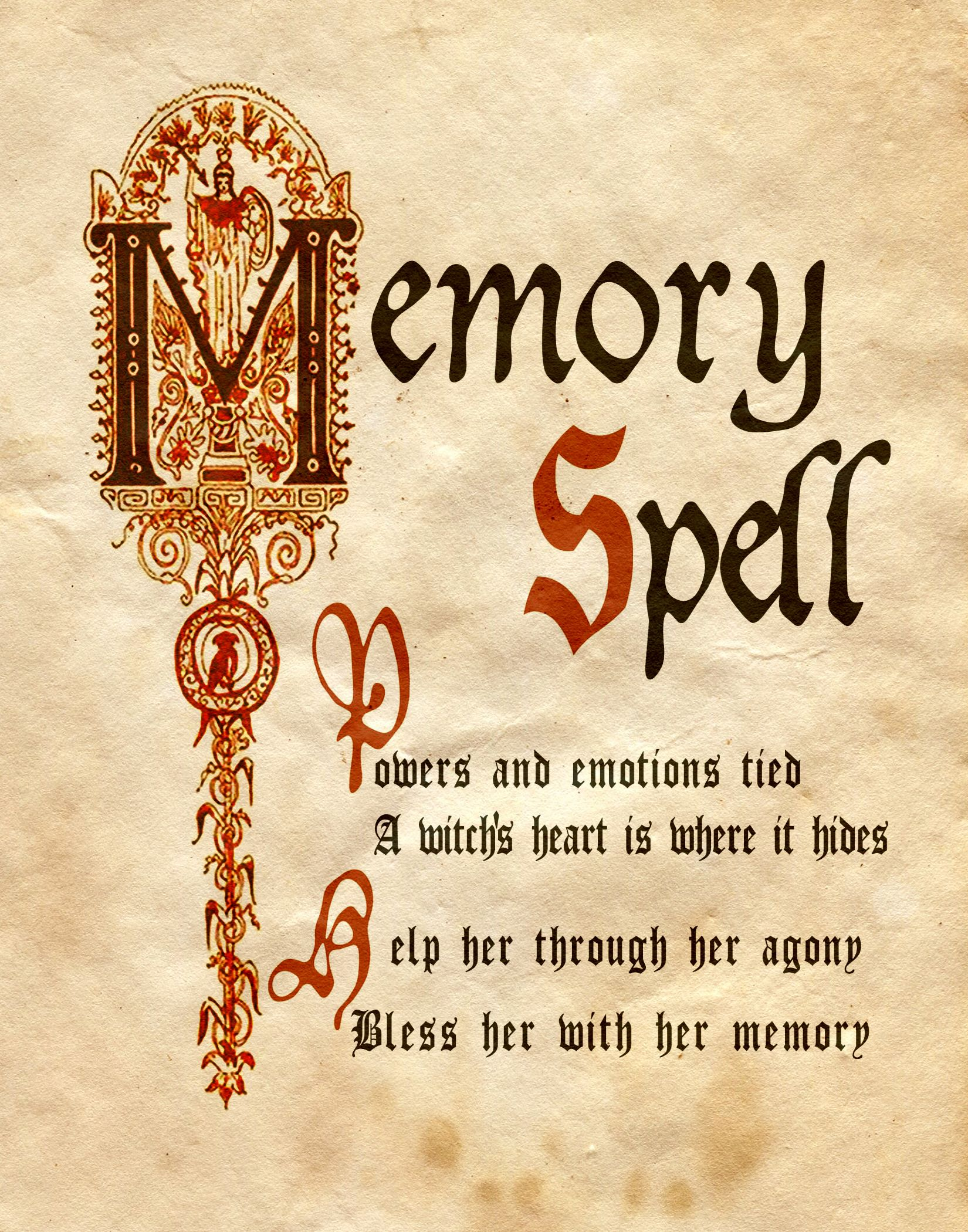 Memory spell book of shadows all things magick pinterest memory spell book of shadows fandeluxe Images