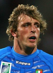 Feb 23, 1983: Italian Rugby player Mirco Bergamasco was born