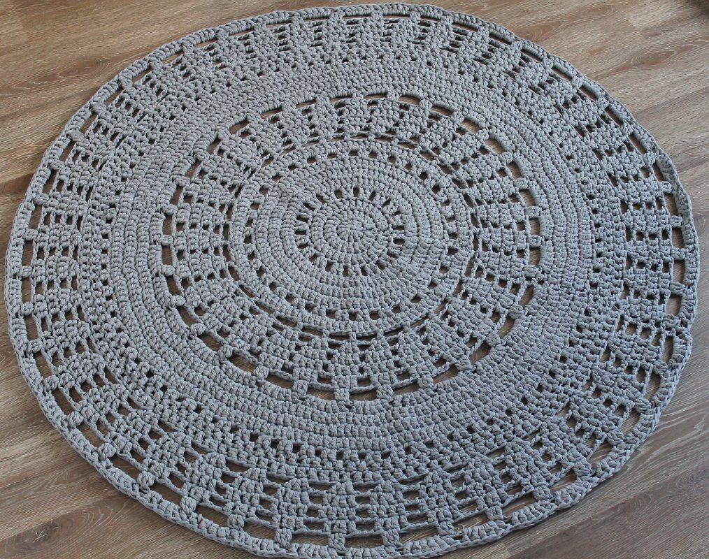 lekker stoer gehaakt vloerkleed. | crochet | pinterest | crochet, Deco ideeën