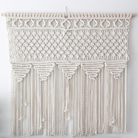'Tribal Party' Macrame Wall Hanging
