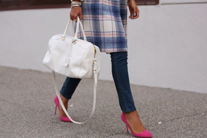 PASTEL PLAID In love with the shoes!! <3