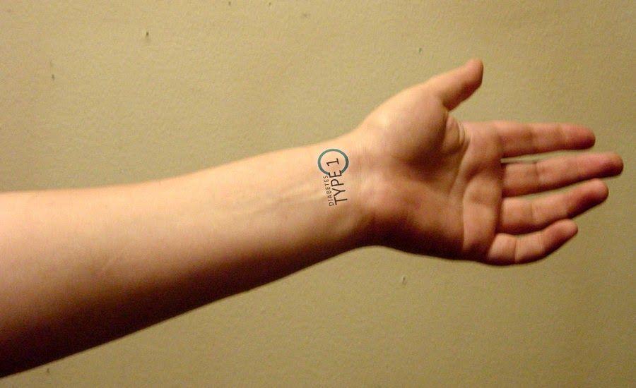 Diabetes tattoos e piercing diabetes tattoo get a