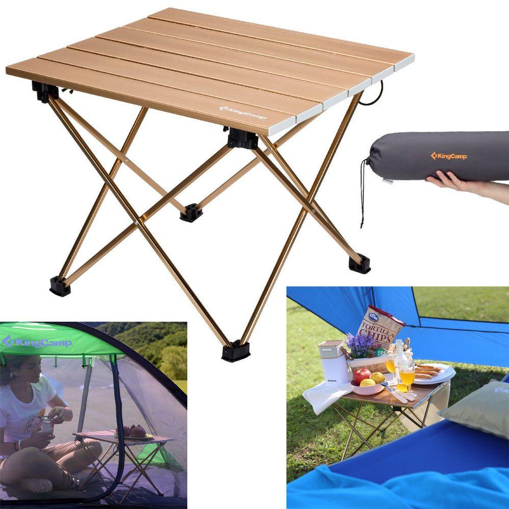 Folding camping table patio garden portable aluminum picnic table folding camping table patio garden portable aluminum picnic table with carry bag watchthetrailerfo