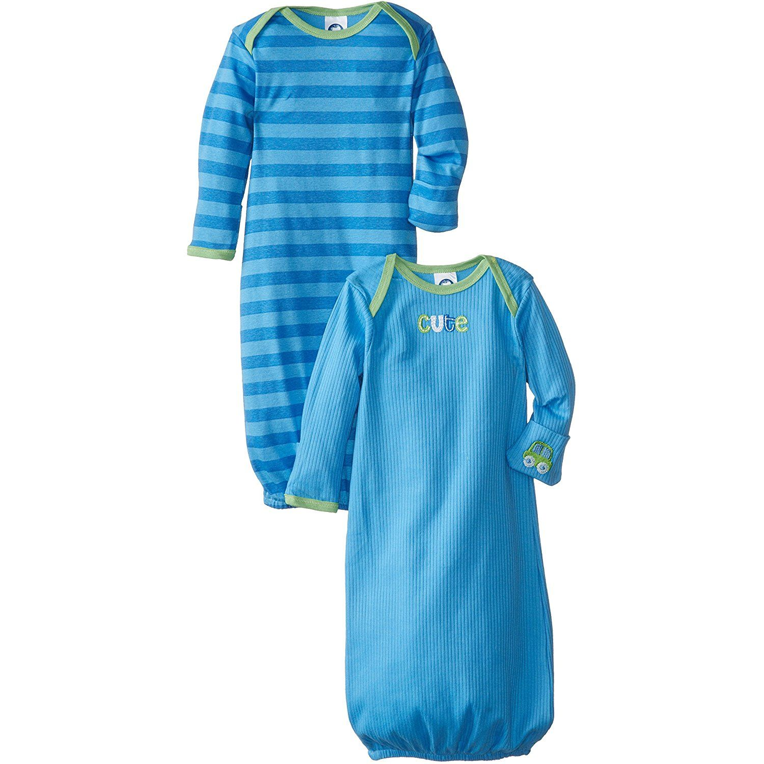 Gerber Baby Boys\' 2 Pack Gown *** You can get more details by ...