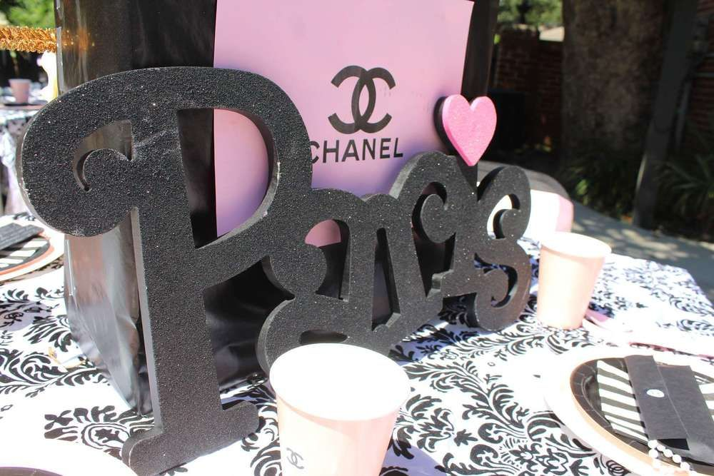 Little Miss Chanel Celebration   CatchMyParty.com