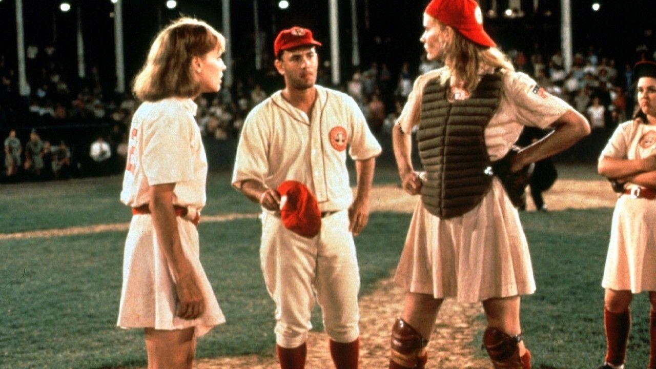 A League Of Their Own 1992 Movies Baseball Movies Sports Movie