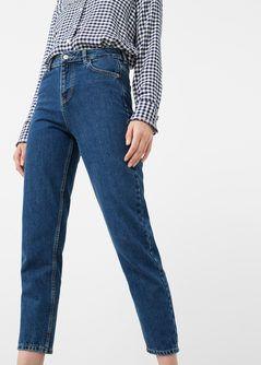 0bb5a5d38bb Jeans relaxed crop mom - Mujer en 2019 | moda | Ropa, Moda y Cremalleras