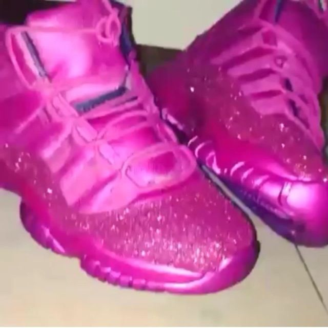 info for 6c3d0 f2e8d All FACTZ NO FICTION — Custom glitter Jordan s 11 any color