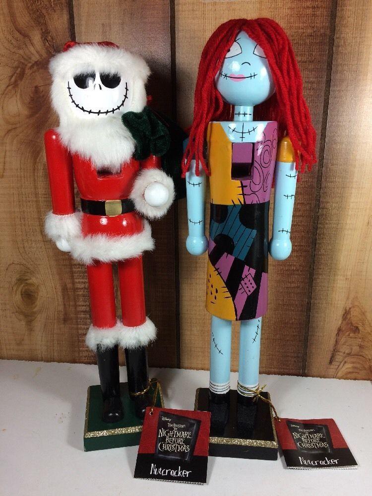 the nightmare before christmas jack skellington nutcracker sally set new 2016 - Nightmare Before Christmas Nutcracker