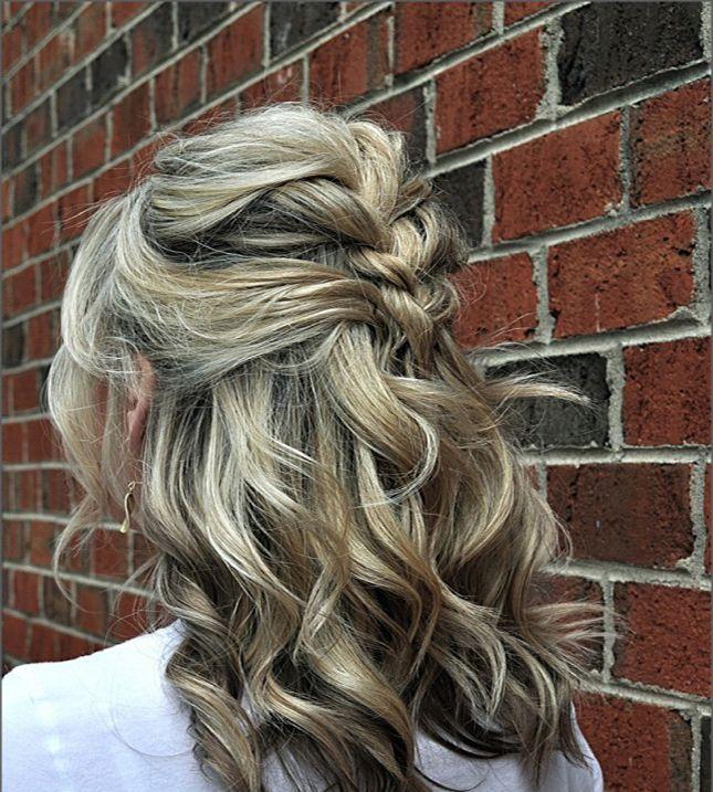 11 Gorgeous And Elegant Half Up Half Down Hairstyles: 11 Half Up, Half Down Hairstyles To Try This Spring Via