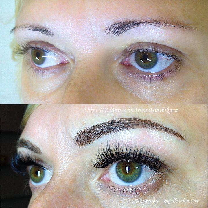 Permanent Make Up Eyebrow Embroidery Microneedling Ultra Hd