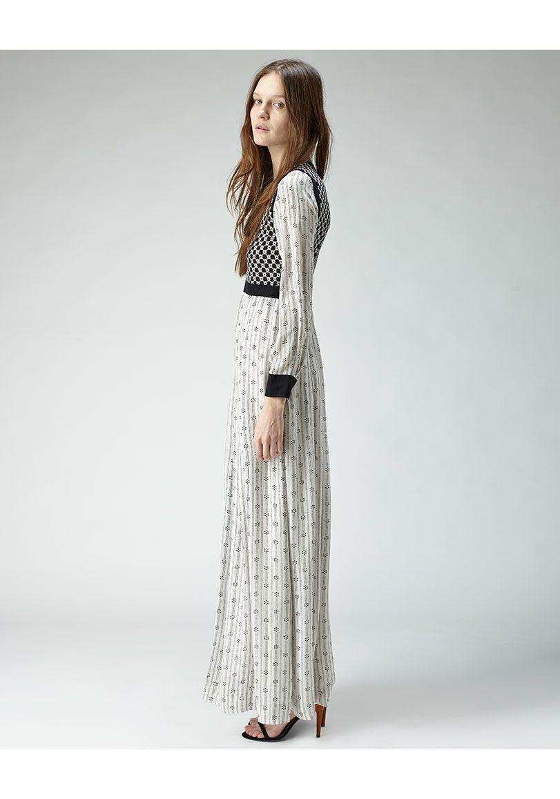 Isabel marant melissande long dress m a x i l e n g h t h