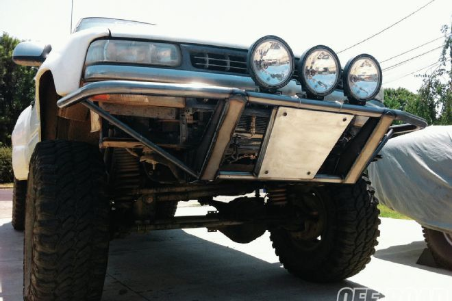 How To Build A Prerunner Bumper | fabrication | Ranger truck