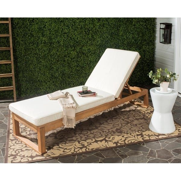 Pin on Outdoor patio on Safavieh Outdoor Living Solano Sunlounger id=76686