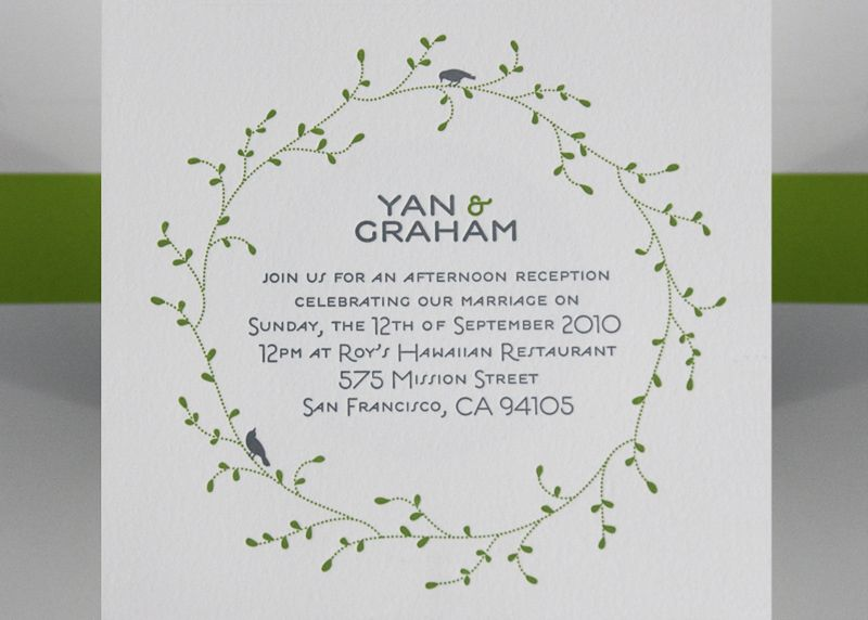 Oh so beautiful paper yan grahams nature inspired destination wedding invitations