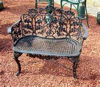 Wondrous French Victorian Oak Leaf Garden Patio Porch Bench Ebay Onthecornerstone Fun Painted Chair Ideas Images Onthecornerstoneorg