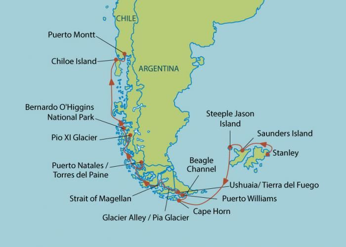 Cape Horn On World Map Google Search Music Classroom - Argentina cape horn map
