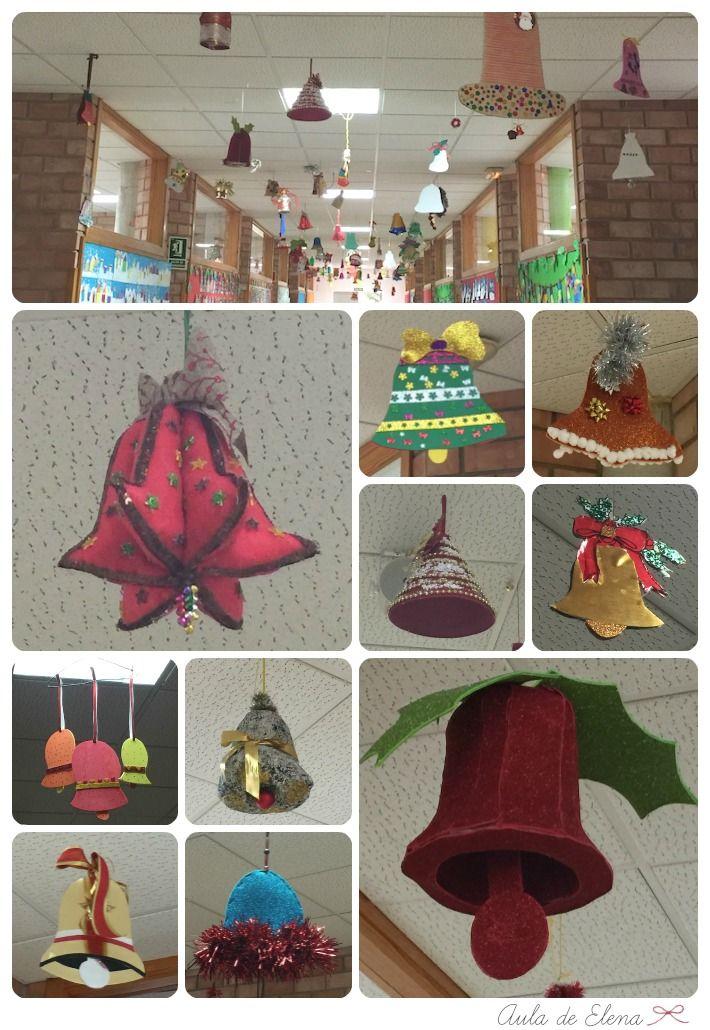 Decoraci n navidad en el cole campanas en el aula de - Blog decoracion navidad ...
