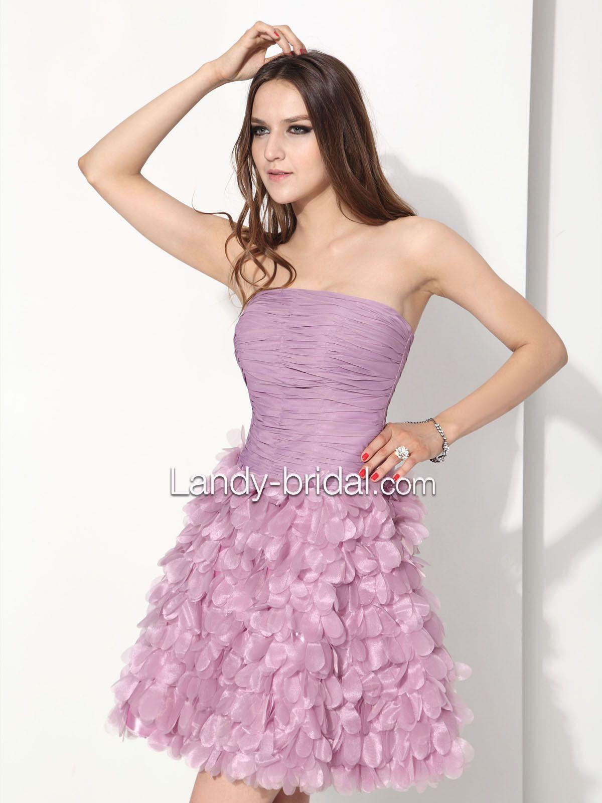 Cocktail Pink Dress - Ocodea.com