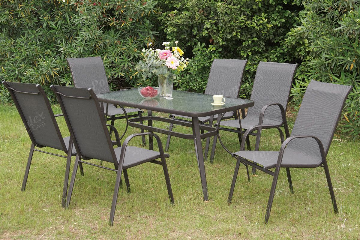 Poundex pcs outdoor set outdoor tables tables and outdoor