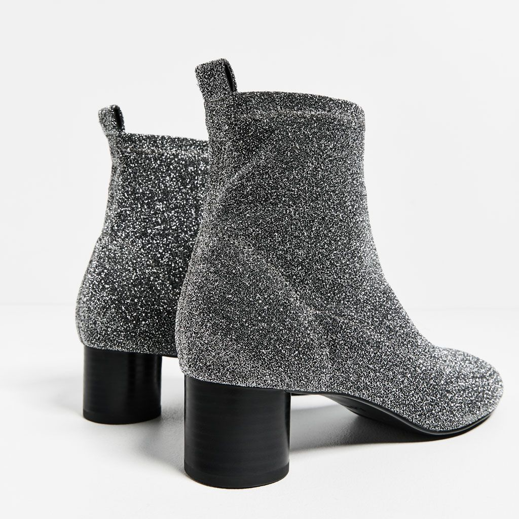 SHINY SOCK ANKLE BOOTS Boots and ankle boots SHOES WOMAN