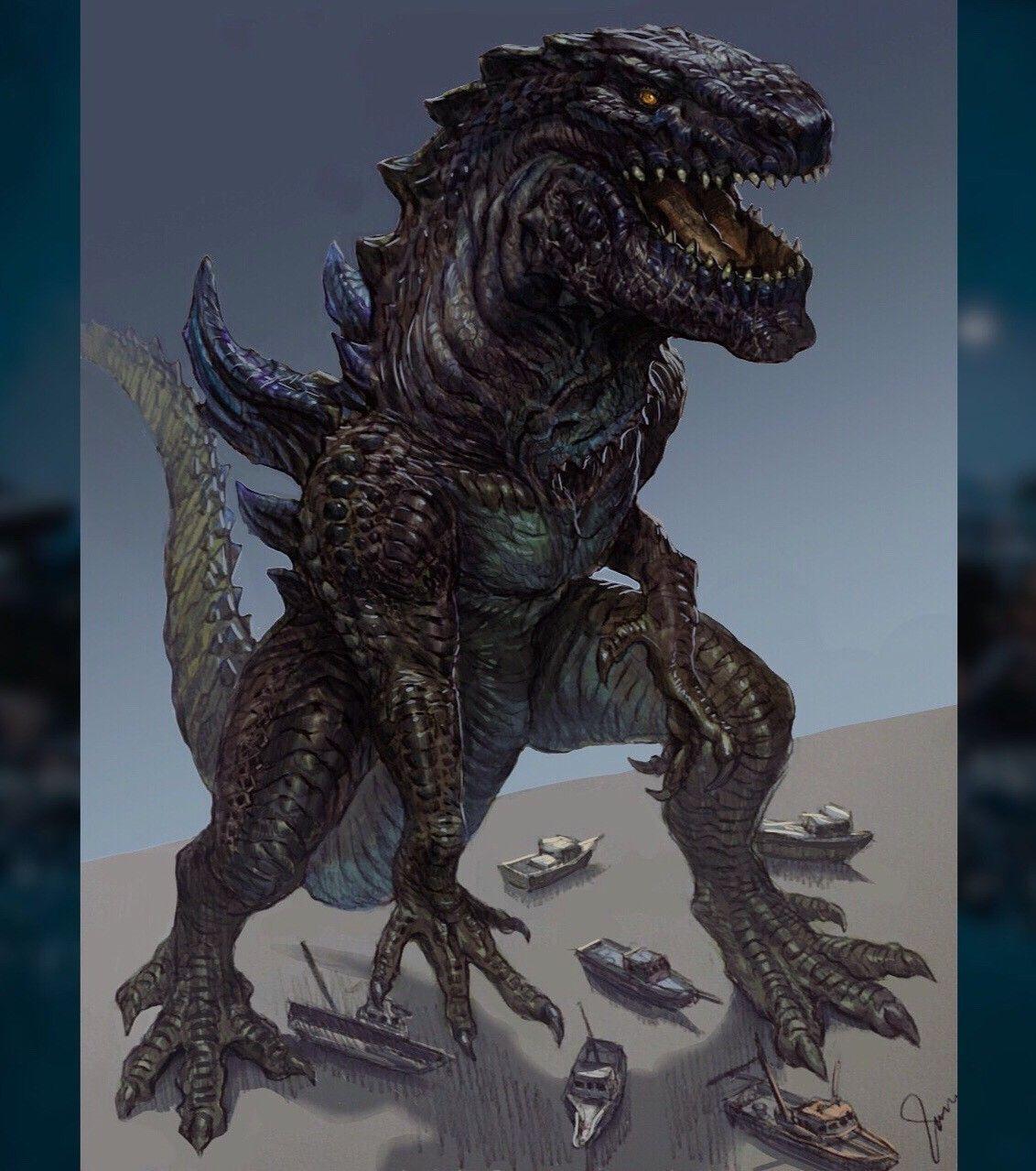 Godzilla 1998™️ (Fanart), Jaroslav Kosmina