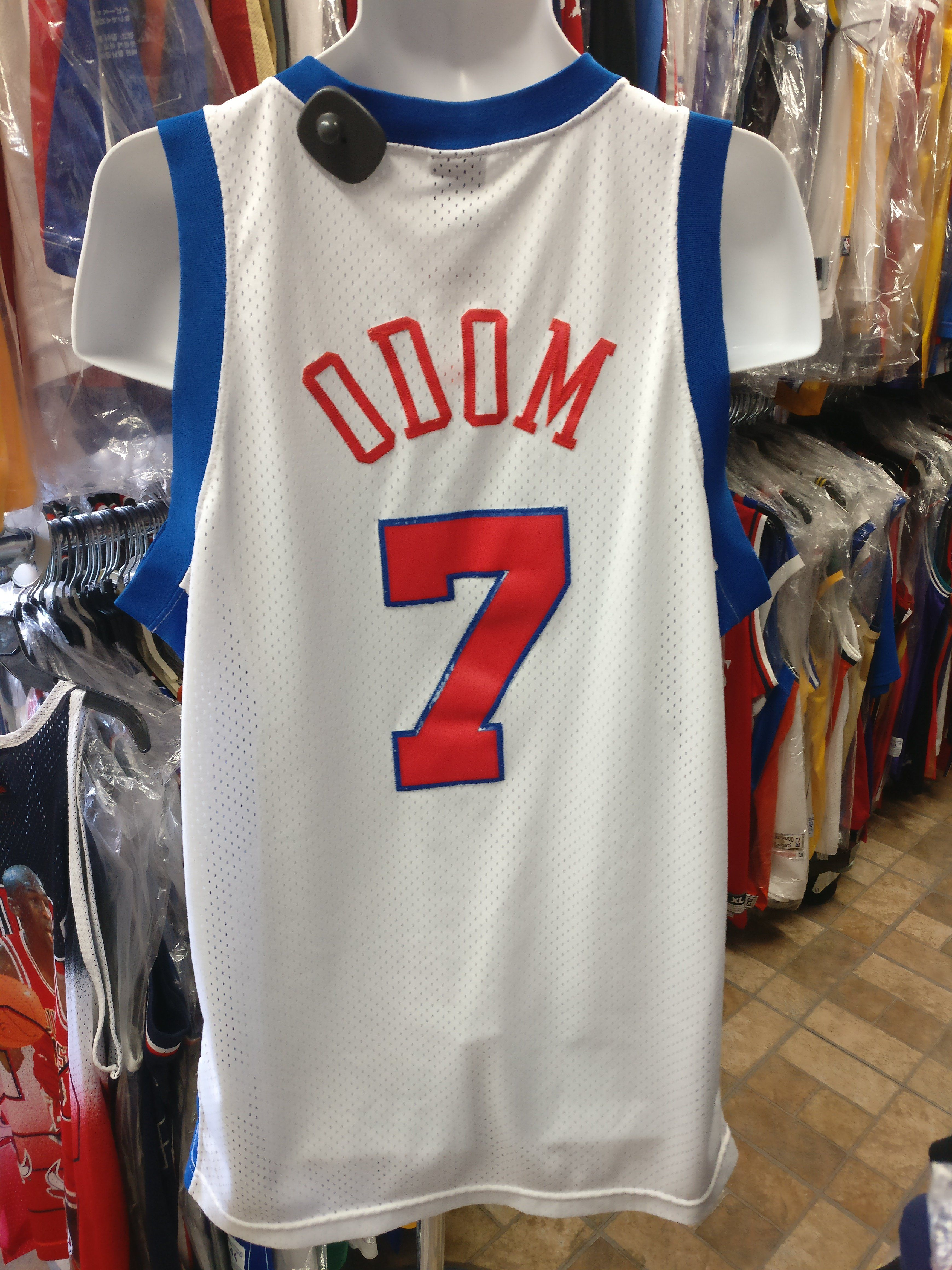 size 40 dff39 656e2 Vintage #7 LAMAR ODOM Los Angeles Clippers NBA Nike Jersey ...
