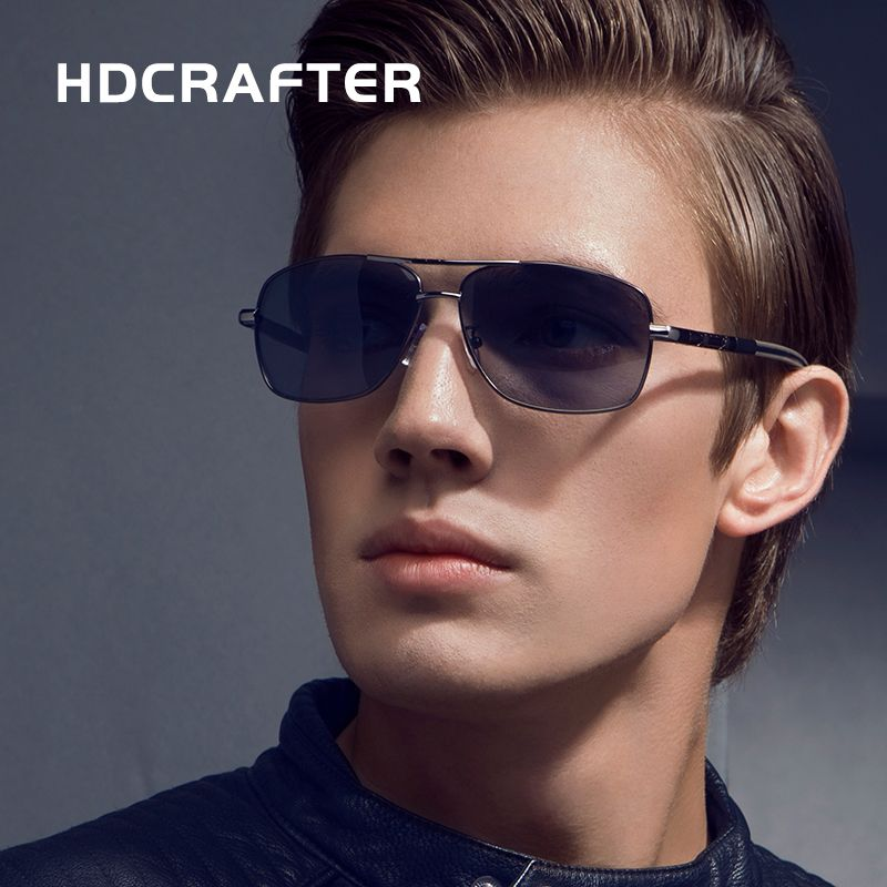 993241c66c7 2017 NEW Men High Quality Brand Design Polarized Driving Rectangle Sun  Glasses UV400 Fashion Sunglasses Men with Box