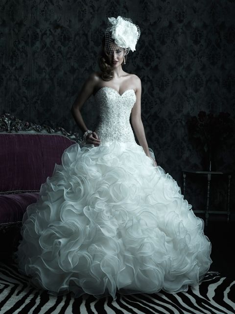 Allure Bridals : Couture Collection : Style C220 : Available colours ...